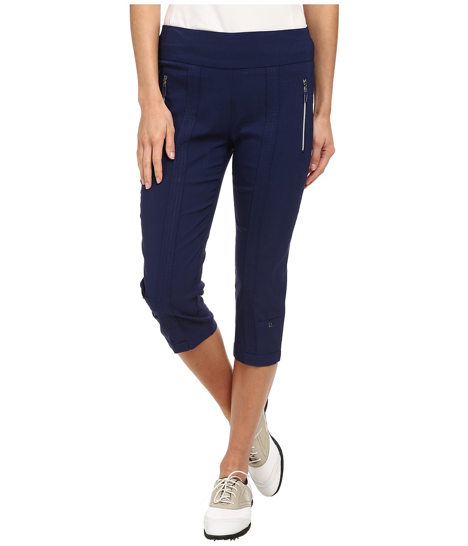 Jamie Sadock - Skinnylicious 28.5 in. Pedal Pusher (Nocturnal Navy Blue) Women's Capri