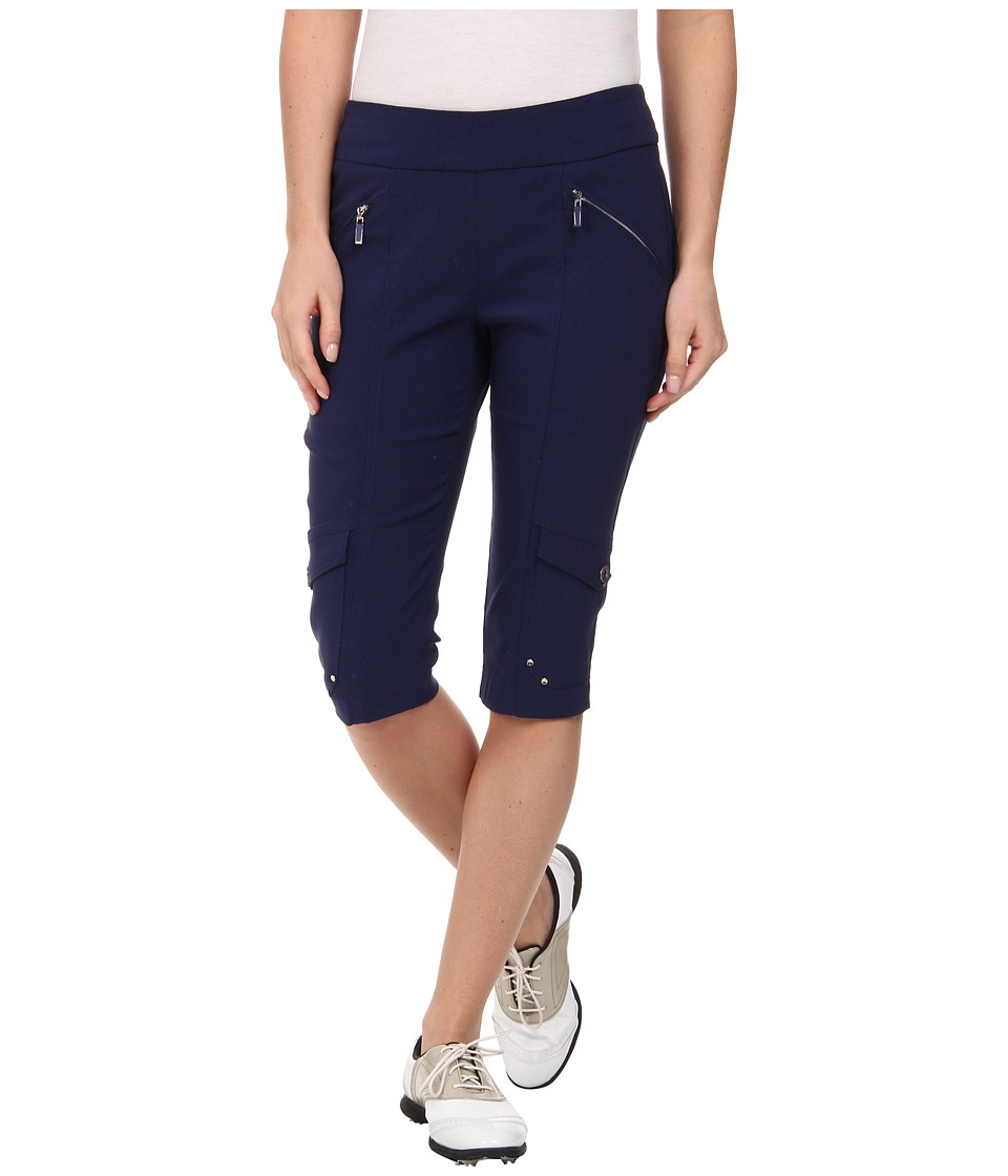 Jamie Sadock - Skinnylicious 24 in. Knee Capri (Nocturnal Navy Blue) Women's Capri