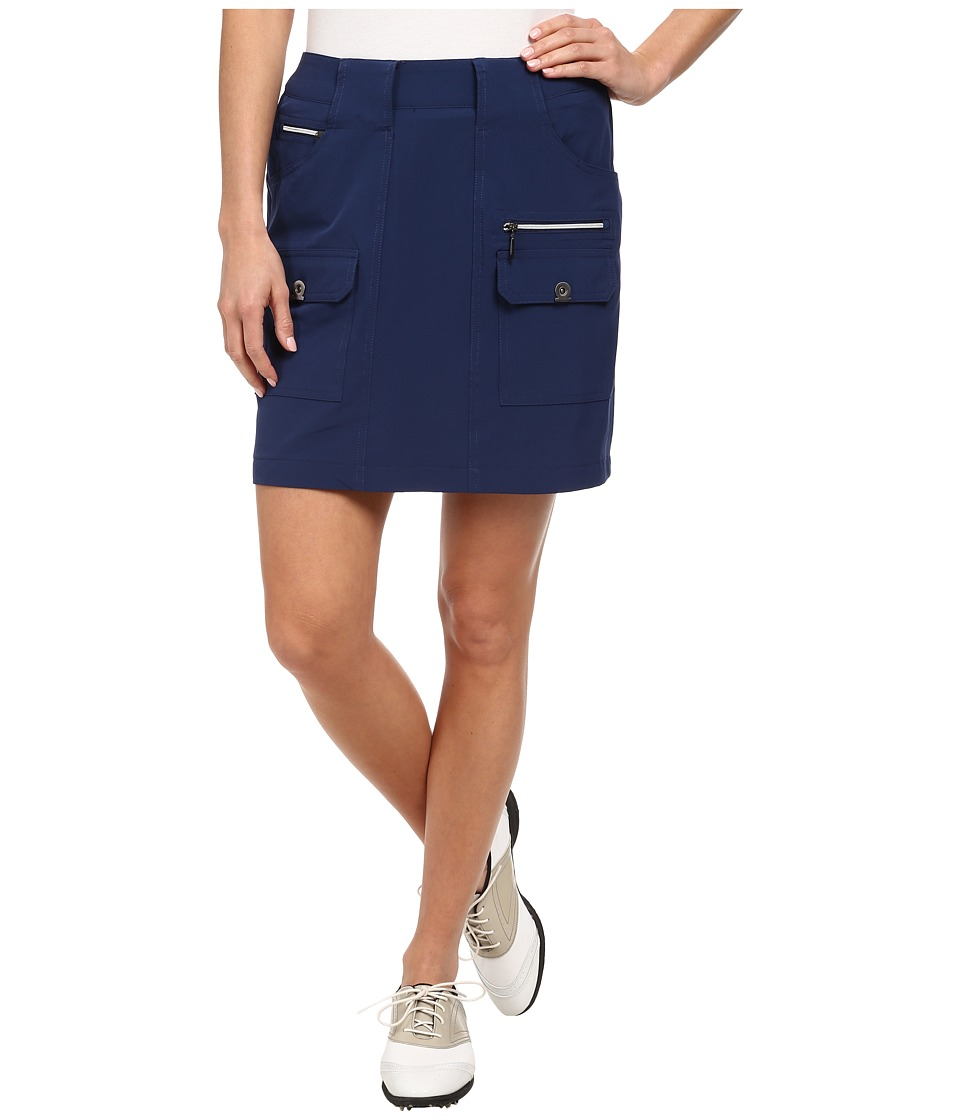 Jamie Sadock - Airwear Light Weight 18 in. Skort (Nocturnal Navy Blue) Women's Skort