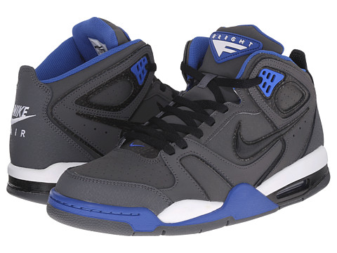 Nike - Air Flight Falcon (Dark Grey/Varsity Royal/Black) Men's Shoes