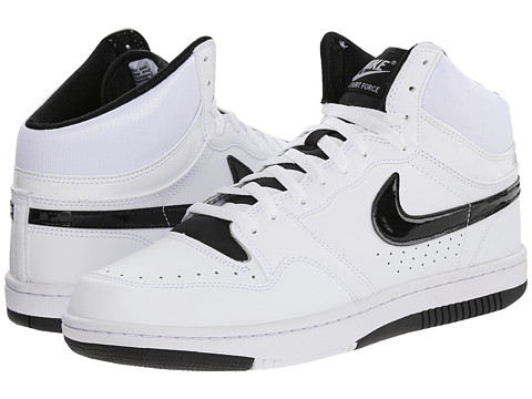 Nike - Court Force Hi ND (White/Black) Men's Basketball Shoes