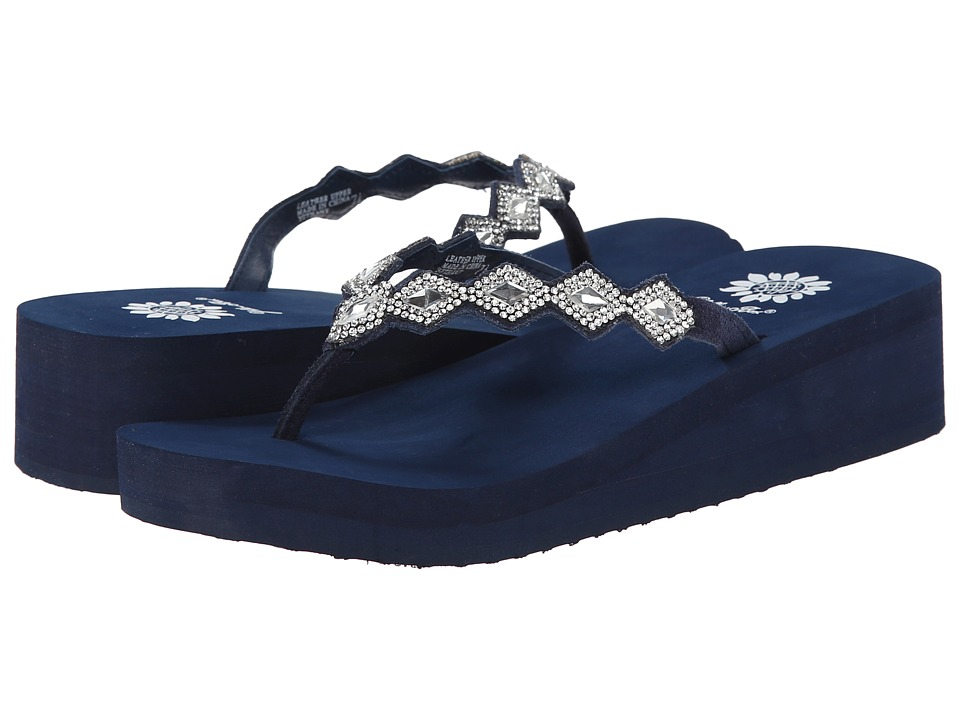 Yellow Box - Bethany (Navy) Women's Sandals