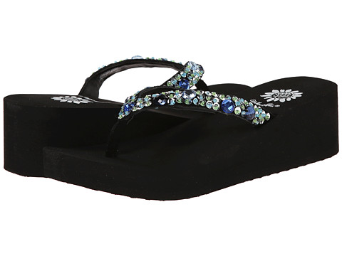 Yellow Box - Twiggy (Blue Multi) Women's Sandals