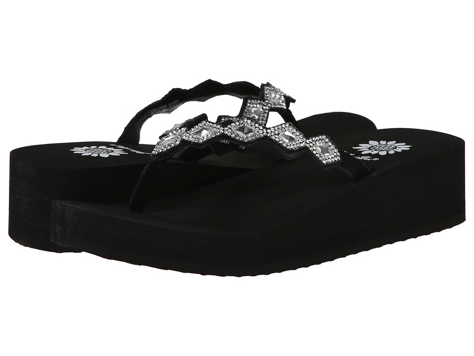 Yellow Box - Bethany (Black) Women's Sandals