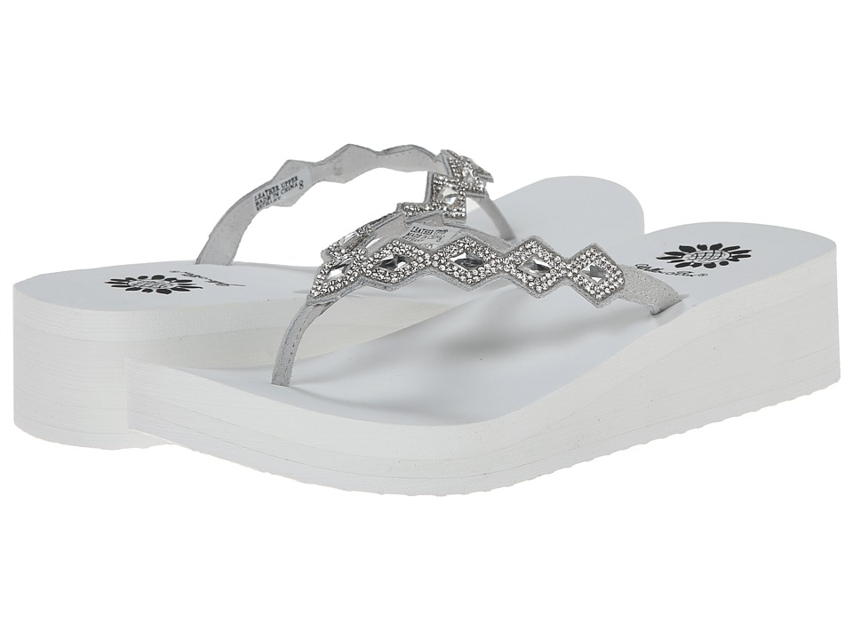 Yellow Box - Bethany (White) Women's Sandals