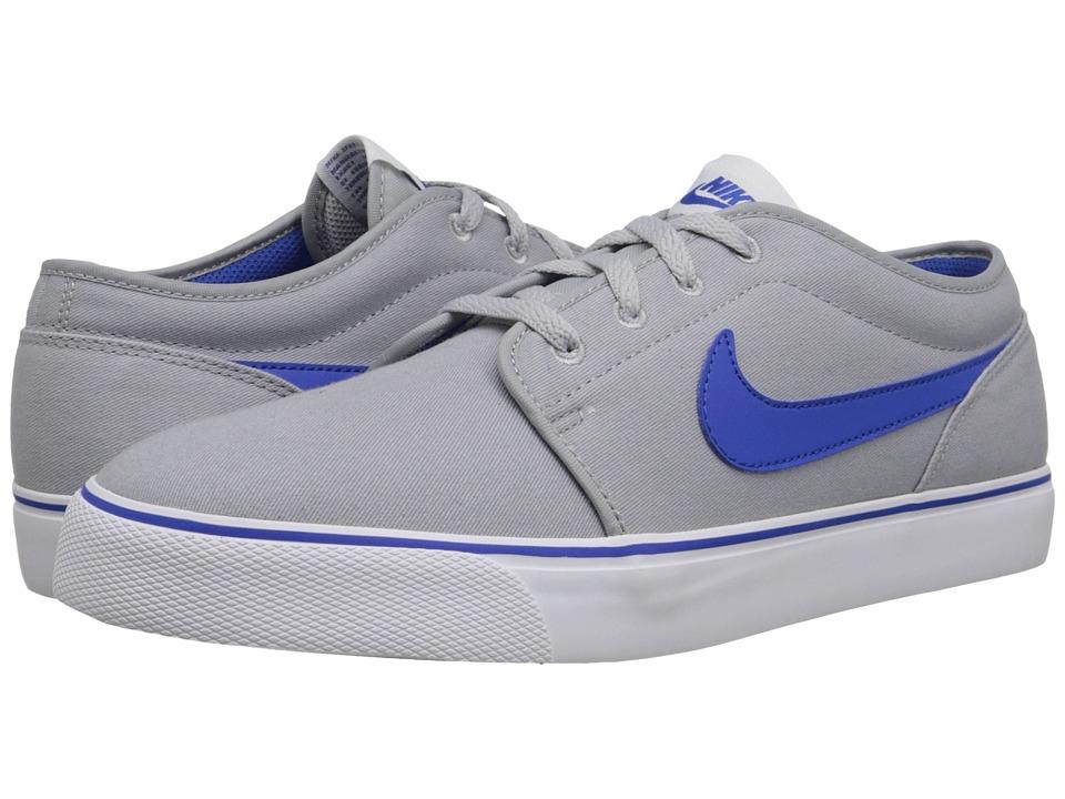 Nike - Toki Textile - Low (Wolf Grey/White/Game Royal) Men