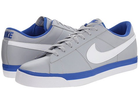 Nike - Match Supreme (Wolf Grey/Game Royal/White) Men's Shoes
