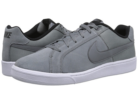 Nike - Court Royale Plus (Cool Grey/Black/Cool Grey) Men