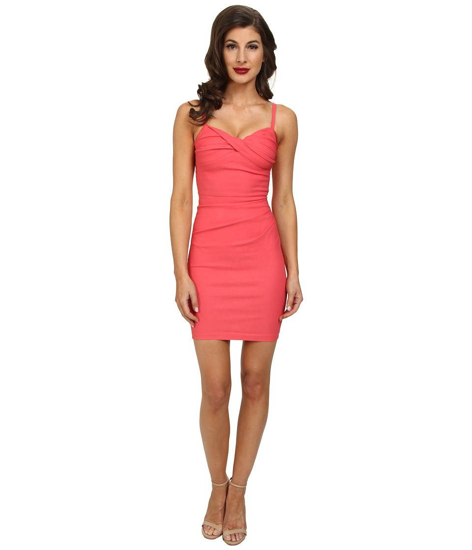 Stop Staring! - Spagetti Strap Dress (Coral) Women's Dress