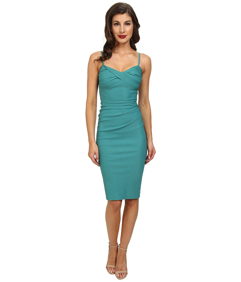 Stop Staring! - Spagetti Strap Dress (Seafoam Green) Women's Dress