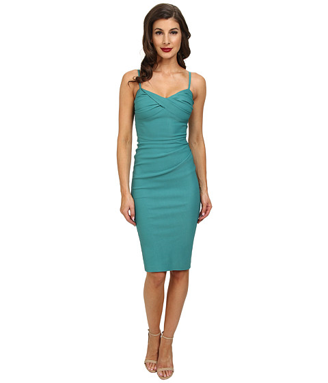 Stop Staring! - Spagetti Strap Dress (Seafoam Green) Women