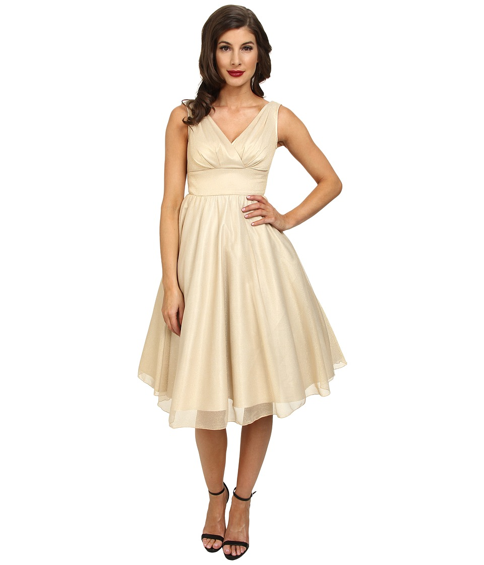 Stop Staring! - Dream Swing Dress (Champagne) Women's Dress
