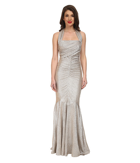 Stop Staring! - Serena Evening Dress (Gold) Women's Dress