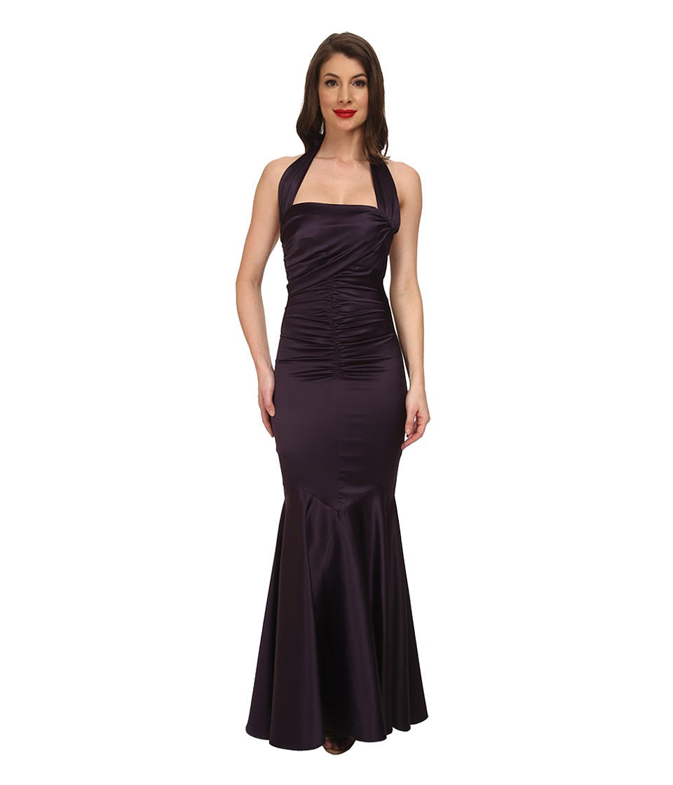 Stop Staring! - Serena Evening Dress (Purple) Women's Dress