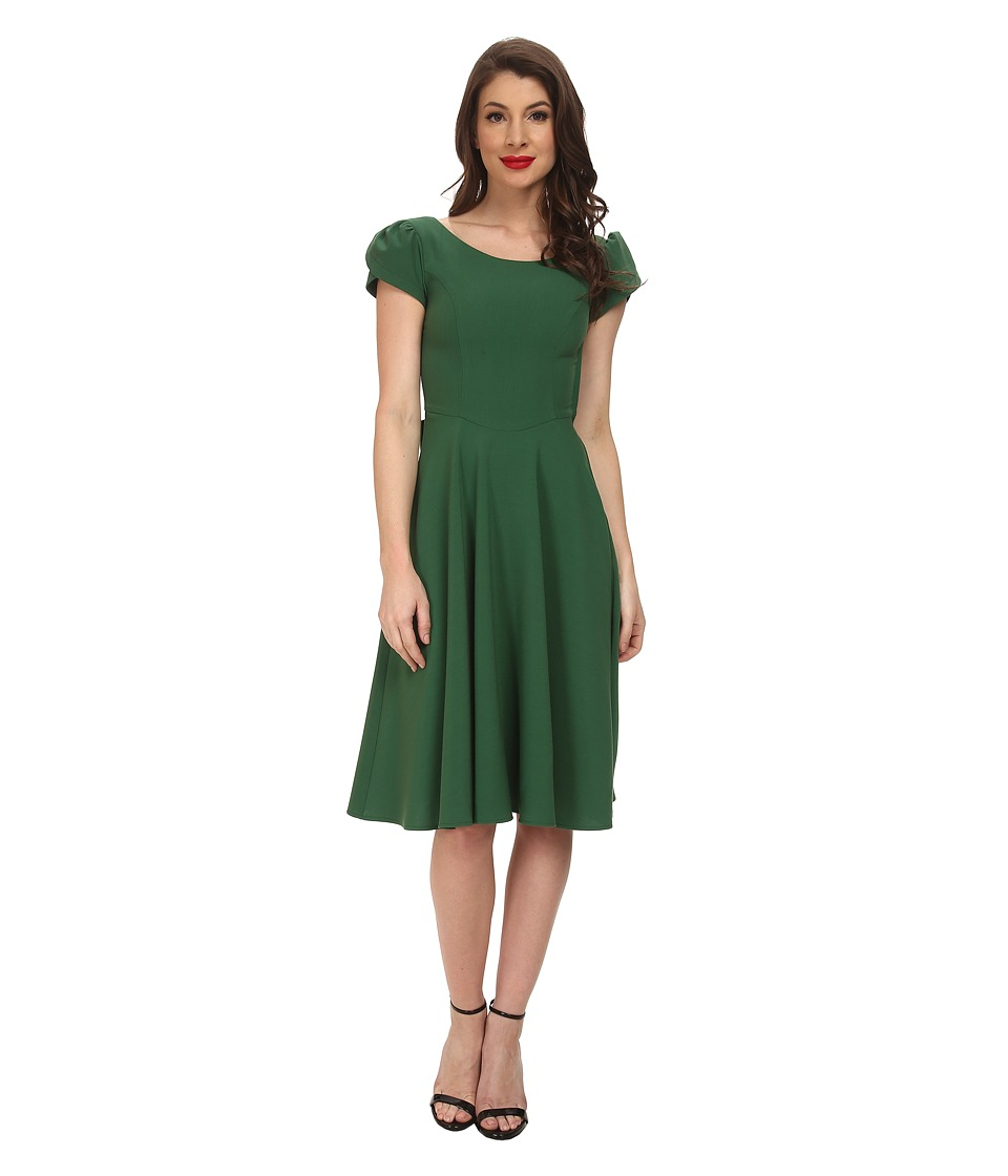 Stop Staring! - Aspen Swing Dress (Green) Women's Dress