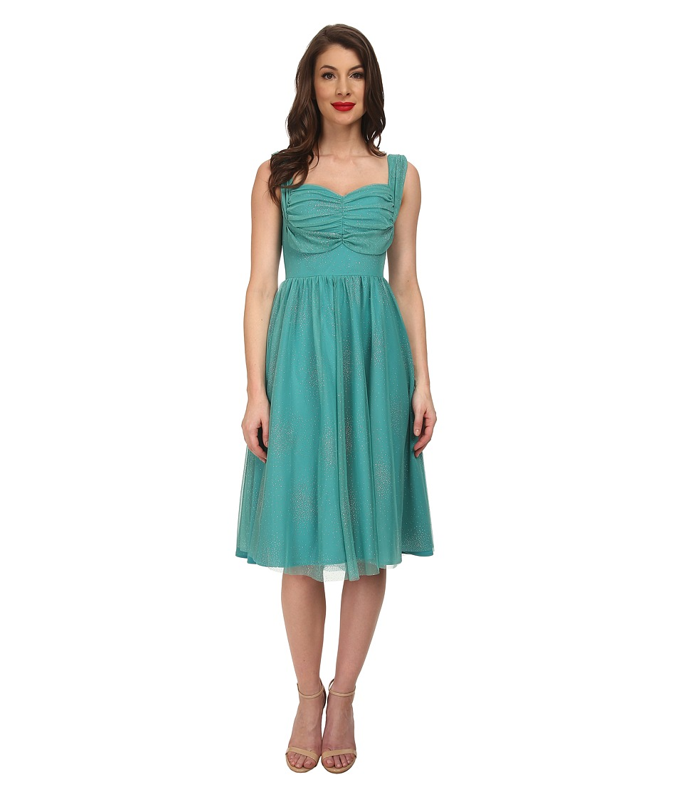 Stop Staring! - Opal Swing Dress (Seafoam Green) Women