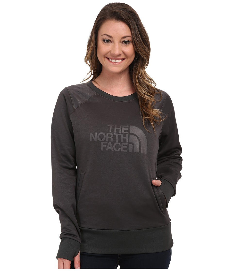 The North Face - Suprema Crew Pullover (Asphalt Grey) Women's Long Sleeve Pullover