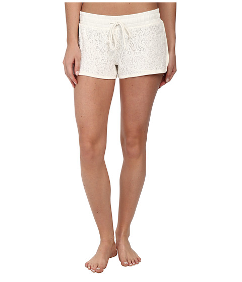 P.J. Salvage - Lace Sleep Short (Ivory) Women