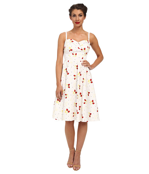 Stop Staring! - Strawberry Swing Dress (Strawberry) Women's Dress