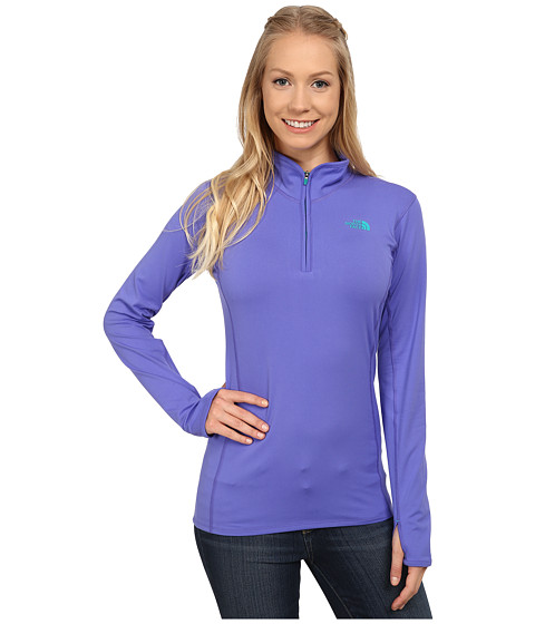 The North Face - Motivation 1/4 Zip Pullover (Starry Purple) Women's Long Sleeve Pullover