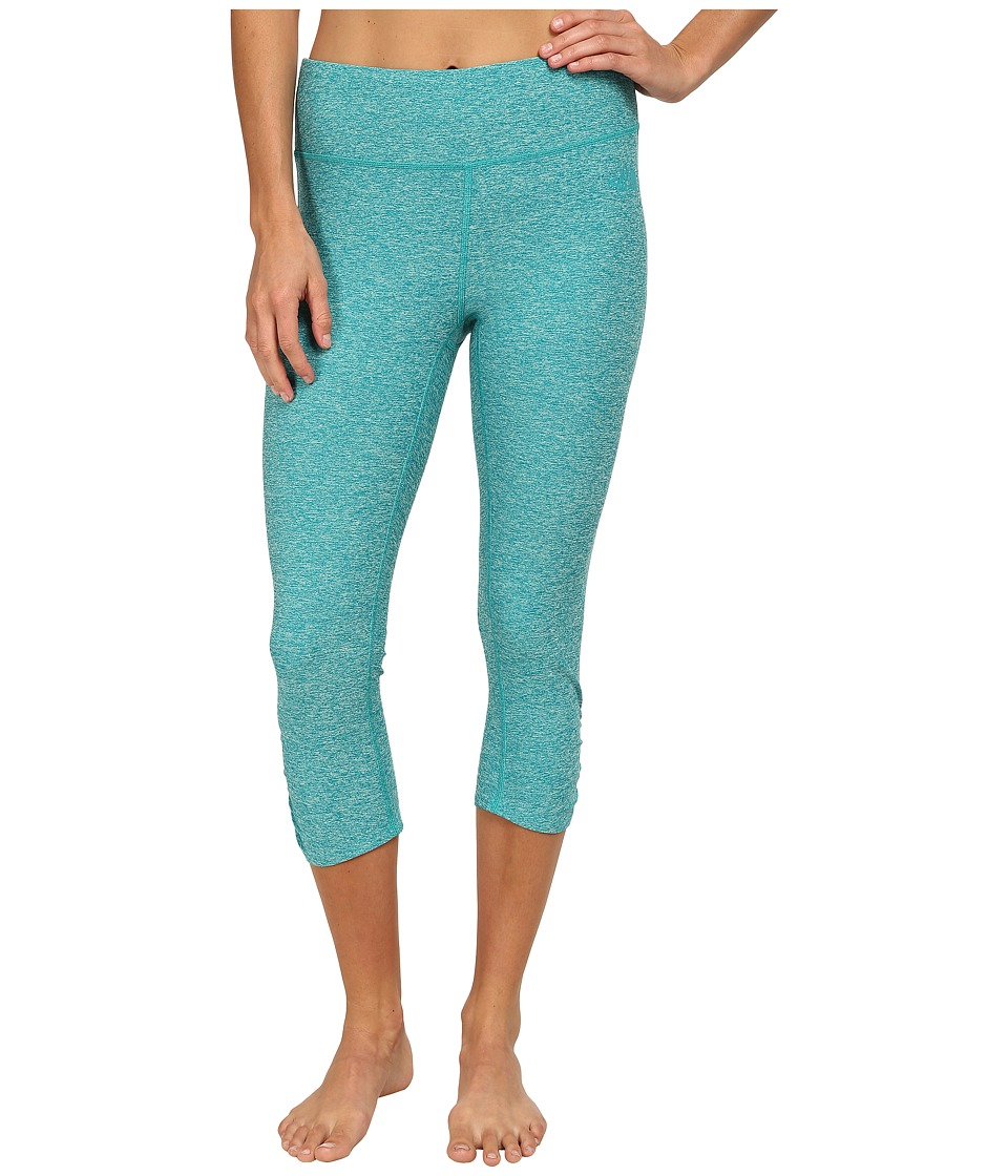 The North Face - Motivation Crop Legging (Kokomo Green Heather) Women's Capri