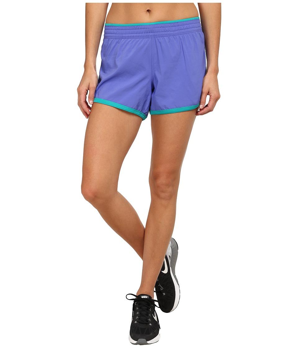 The North Face - Reflex Core Shorts (Starry Purple/Kokomo Green/Kokomo Green) Women