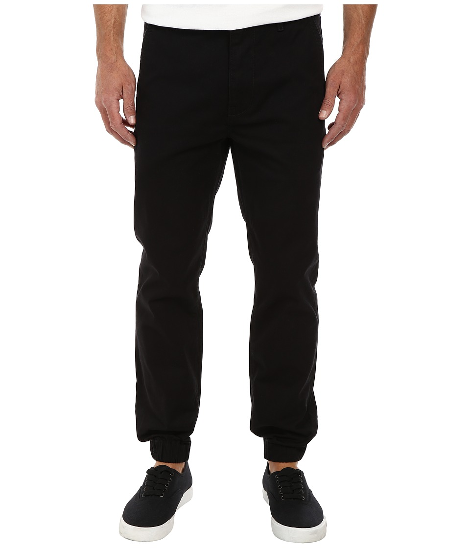 Levi's(r) Mens - Chino Jogger - Self Cuff (Black/Twill) Men's Casual Pants