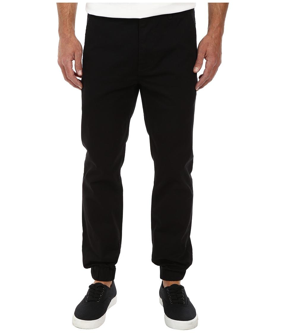Levi's(r) Mens - Chino Jogger - Self Cuff (Black/Twill) Men's Casual Pants