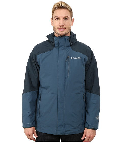 Columbia - Element Blocker Interchange Jacket (Everblue Night Shadow) Men's Coat