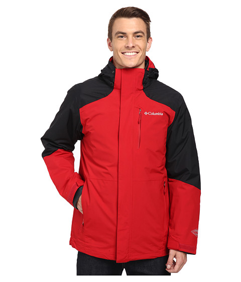 Columbia - Element Blocker Interchange Jacket (Rocket Black) Men's Coat