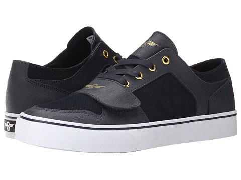Creative Recreation - Cesario Lo XVI (Navy/Woodgrain) Men's Shoes