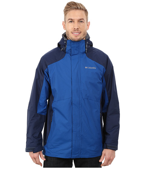 Columbia - Eager Air Interchange Jacket (Collegiate Navy/Marine Blue) Men's Coat