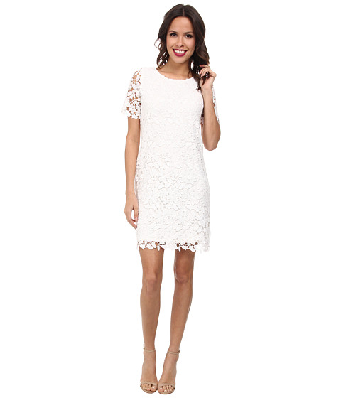 KUT from the Kloth - Allover Lace Dress (White) Women