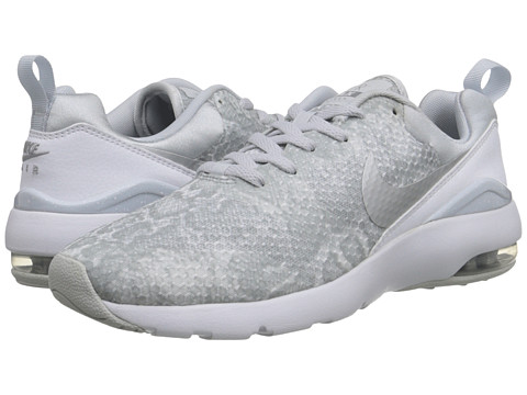 Nike - Air Max Siren Print (Pure Platinum/White/Metallic Silver) Women's Classic Shoes