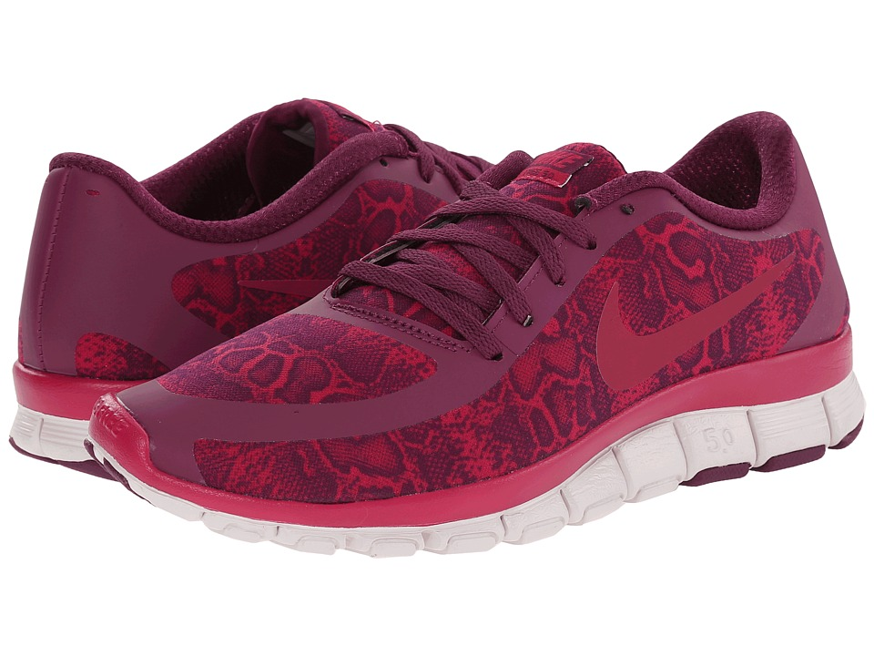 Nike - Free 5.0 V4 (Mulberry/Venice/Sport Fuchsia) Women's Shoes