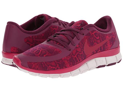 Nike - Free 5.0 V4 (Mulberry/Venice/Sport Fuchsia) Women's Shoes