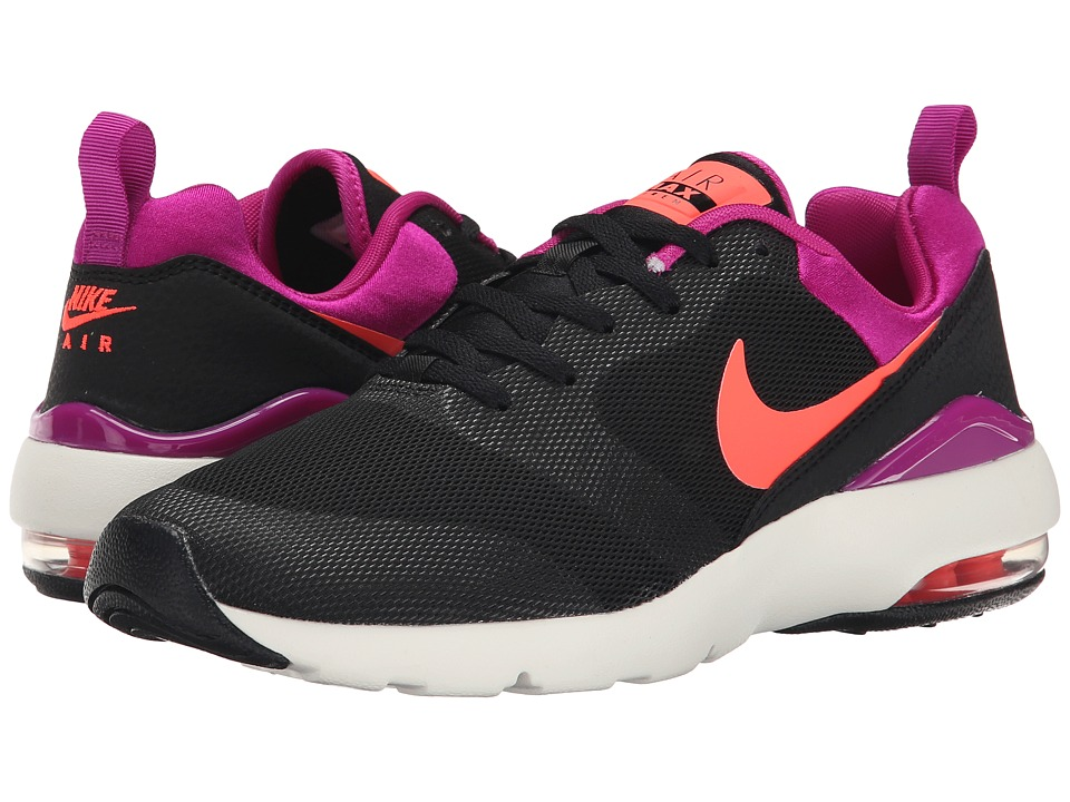 Nike - Air Max Siren (Black/Fuchsia Flash/Sail/Hot Lava) Women's Classic Shoes