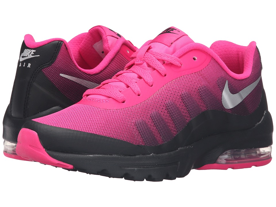 Nike - Air Max Invigor Print (Black/Pink Foil/Sport Fuchsia/Metallic Silver) Women's Classic Shoes