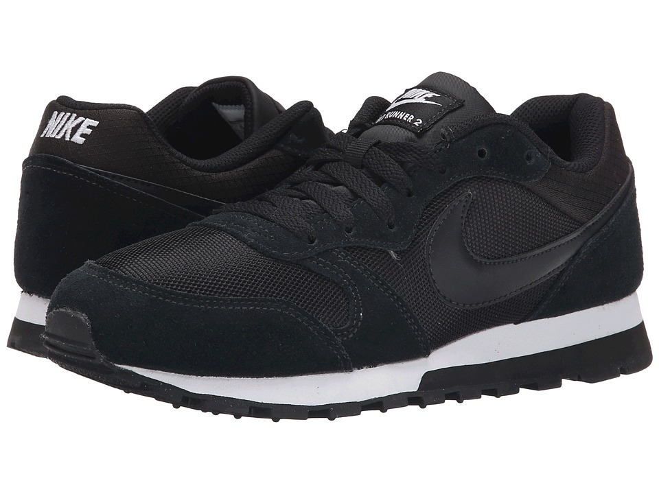 Nike - MD Runner 2 (Black/White/Black) Women's Classic Shoes
