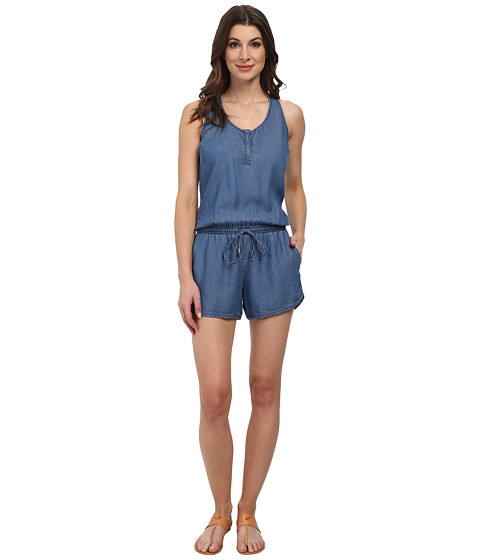 Splendid - Romper (Medium Wash) Women's Jumpsuit & Rompers One Piece