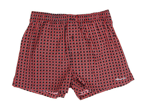 Kenneth Cole Reaction - Woven Boxer (Scarlet Box) Men's Underwear