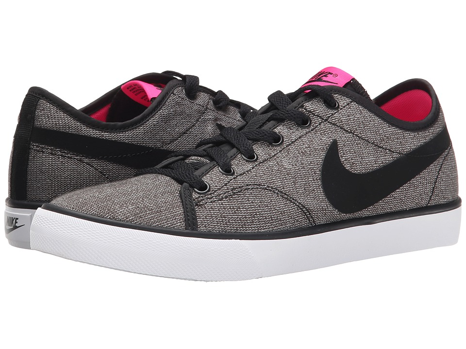 Nike - Primo Court Canvas (Black/Pink Foil/White/Black) Women's Shoes
