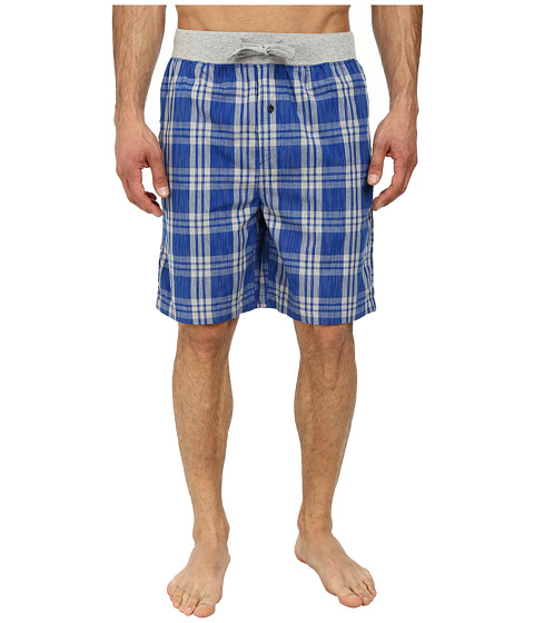 Kenneth Cole Reaction - Sleep Shorts (True Blue Plaid) Men