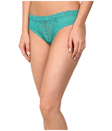 Natori - Feathers Hipster (Green Jewel) Women's Underwear