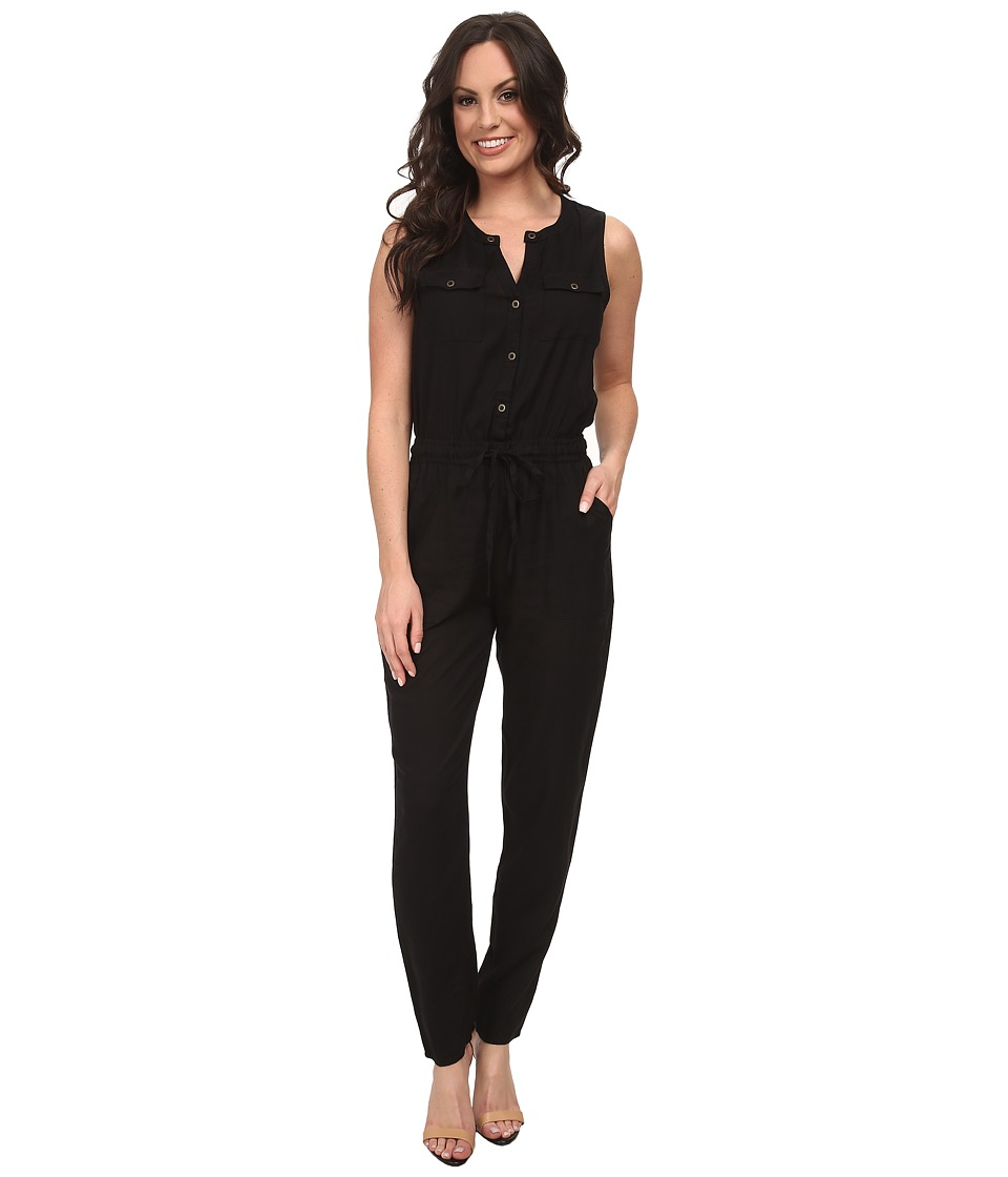 Lucky Brand - Black Romper (Lucky Black) Women's Jumpsuit & Rompers One Piece