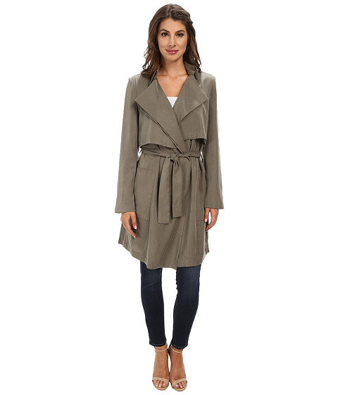Bardot - Draper Trench Coat (Khaki) Women's Coat