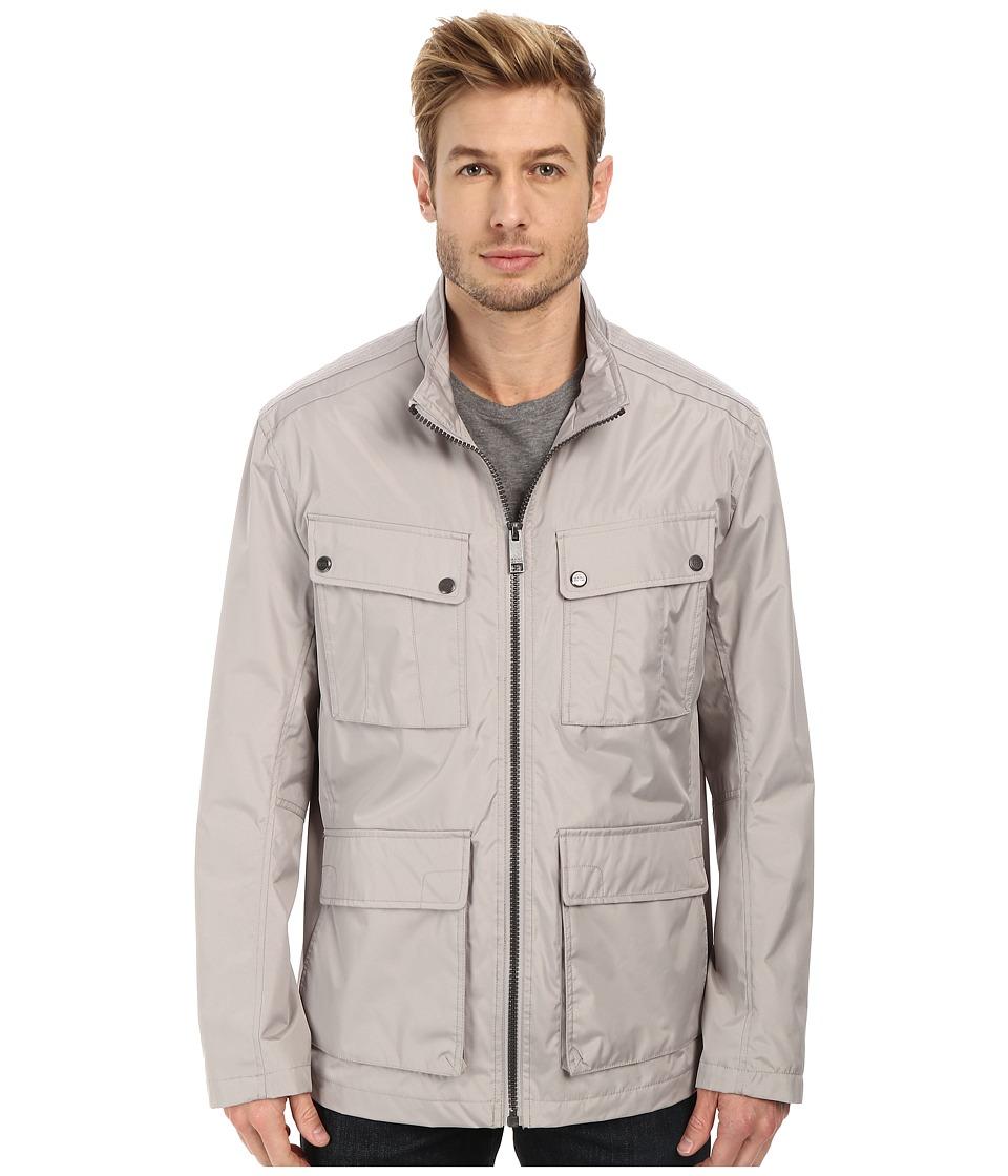 Marc New York by Andrew Marc - Bobby - City Rain Tech Four-Pocket Field Jacket (Dove Grey) Men