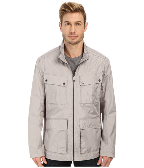 Marc New York by Andrew Marc - Bobby - City Rain Tech Four-Pocket Field Jacket (Dove Grey) Men