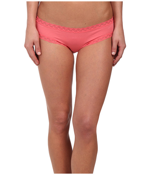 Natori - Bliss Cotton Girl Brief (Fresh Coral) Women's Underwear