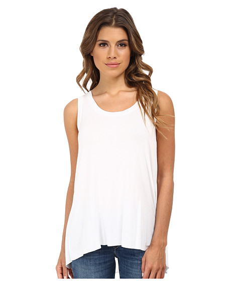 Bailey 44 - Give Up the Funk Top (White) Women's Sleeveless